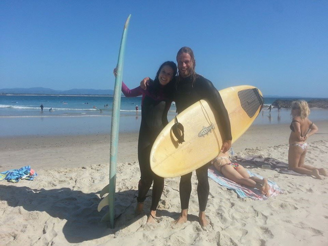 Jules Furnival is stoked after her first surfsession & her first wave .jpg